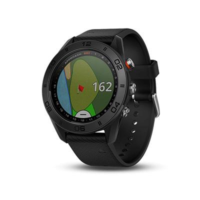 07b9a79f46 GPSで位置情報をすばやくキャッチし、フルカラーのコース上にグリーン、ハザード、ドッグレッグまでの正確な距離を表示し、全世界40,000以上のゴルフコースにも対応(  ...