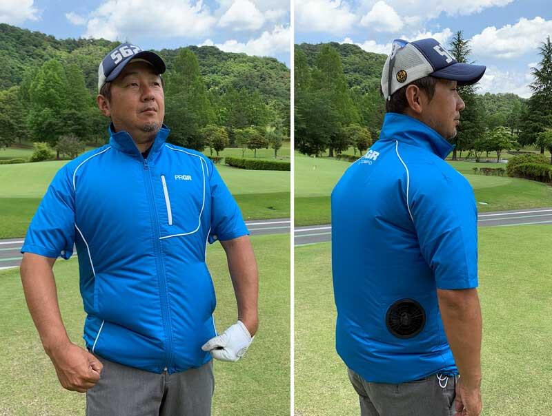 服 ゴルフ 空調 ゴルフで使える空調服~涼しくオシャレなファン付きウェア